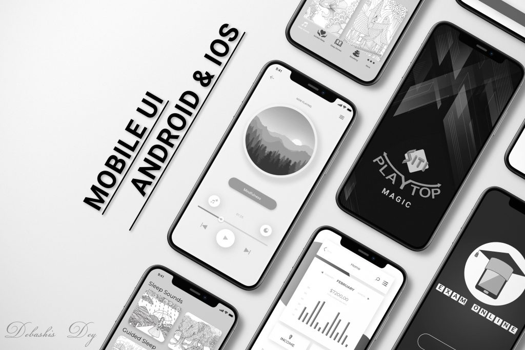 Mobile Phine UI - UX