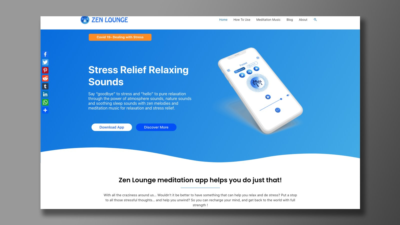 Zen Lounge website